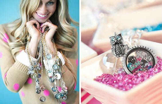 Origami Owl - great personalized jewelry.  Great story about how this business started.  Visit my favorite independent designer, Rebecca!