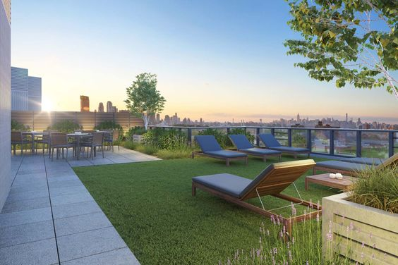 Image Result For Rooftop Terrace Sun Lounges Roof Garden Underground Homes Luxury Condo