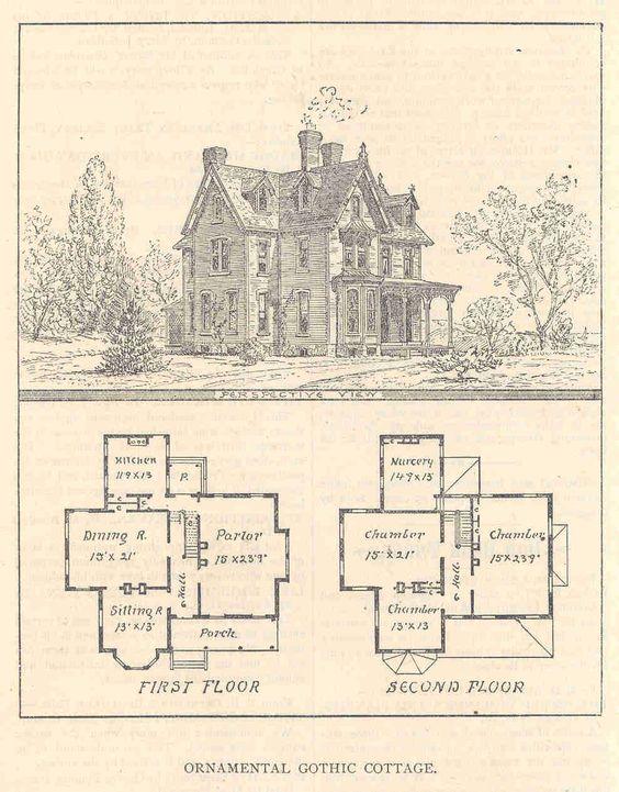 Victorian House Plans GLB   Fancy Houses   Pinterest   Victorian    Victorian House Plans GLB