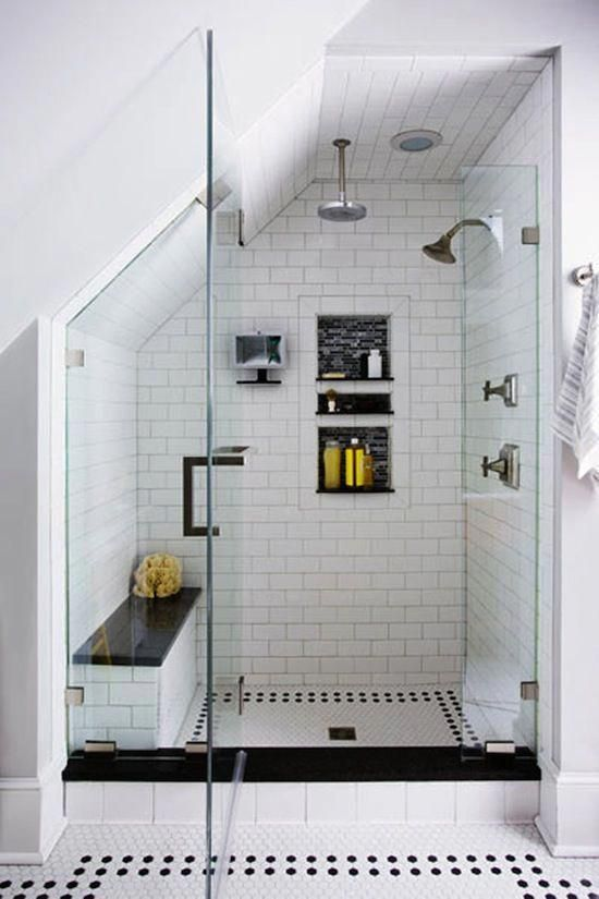 Photos Via This Old House Love The Attention To Detail In This Stunning Master Bath Remodel Dat Shower Bathrooms Remodel Remodel Bedroom Master Bath Remodel