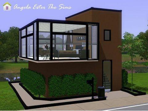 Angela Ester The Sims Minicasa 15 The Sims 3 Sims House Sims House Design Sims