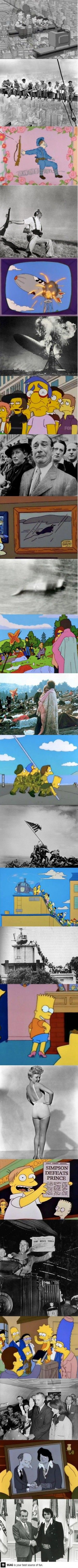 Simpsons hommages