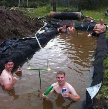 Redneck Diy Swimming Pools Country Living Pinterest Pools Swimming And Swimming Pools