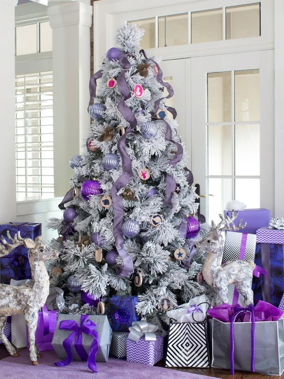 Purple Decor for New Year | Design & DIY Magazine: