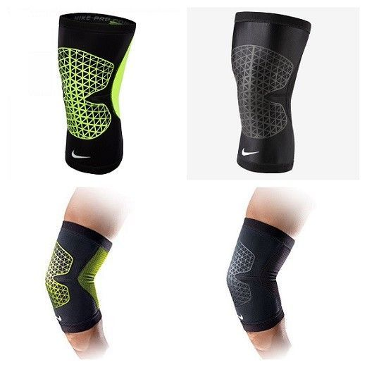 9761aa4843 Nike Pro Combat Hyperstrong Knee Support Sleeves Compression Running Sleeve  #Nike