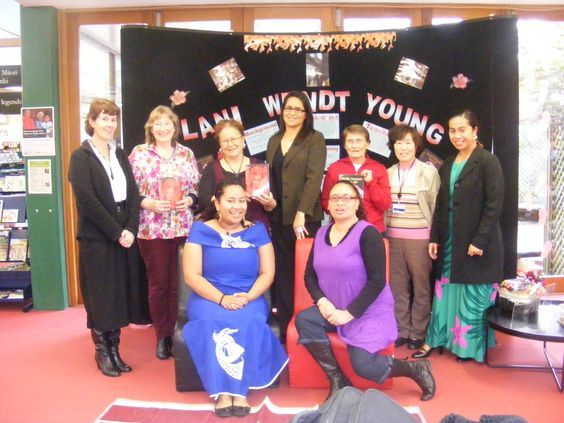 Fabulous team at the North Shore Library, Auckland