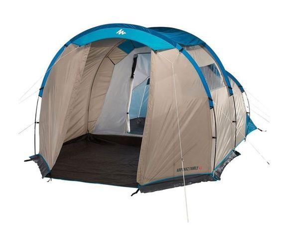 QUECHUA ARPENAZ 4.1 FAMILY TENT MAN Kids Play Outdoor Up Pop Camping Shelter Kit