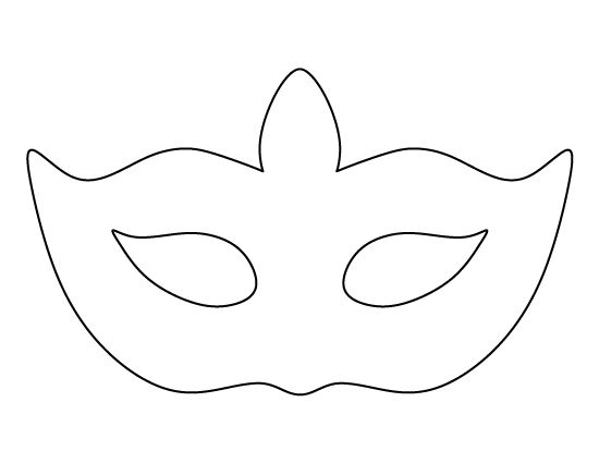 Masquerade mask pattern use the printable outline for for Masquerade ball masks templates