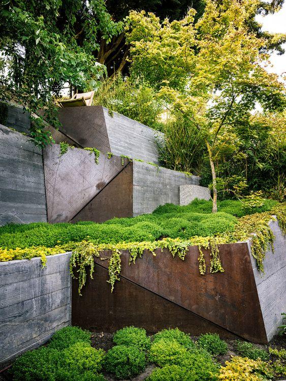 Galería de Arquitectura y Paisaje: Hilgard Garden, una sala de estar al aire…