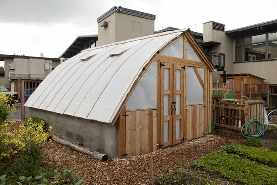 University of montana greenhouses and montana on pinterest for Bow roof shed