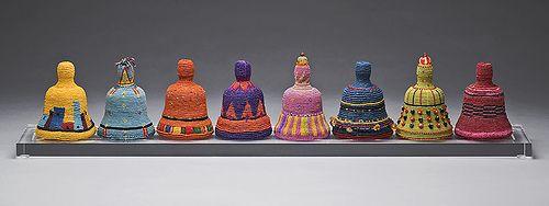 Norman Sherfield - waxed linen fiber art - In Concert