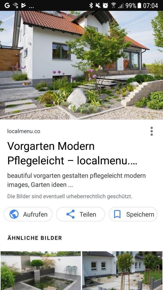 Ziemlich Vorgarten Gestalten Pflegeleicht Modern Bilder ...