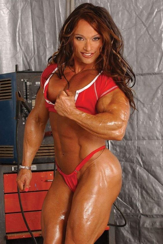 Colette guimond female muscle