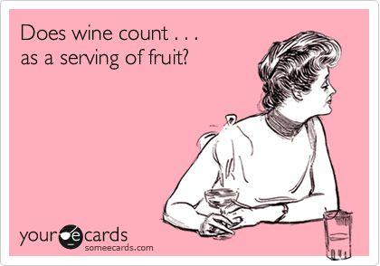 I sure love my wine :)