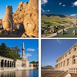 Nemrut & Urfa Tours - Mt. Nemrut is listed on World Heritage List famous with large head status of Gods and Urfa known as the – City of Prophets – both are the major destions to visit on the South East Turkey. We offer regular tours departing from Cappadocia every Monday and Thursday through April to November. The tours provided with air-conditioned vehicles and local guides with return to Cappadocia again.