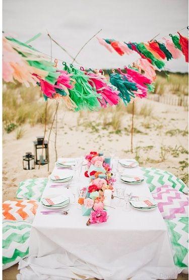 picnic à la plage