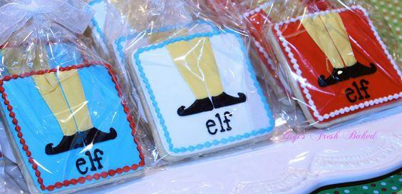 Elf cookie favors