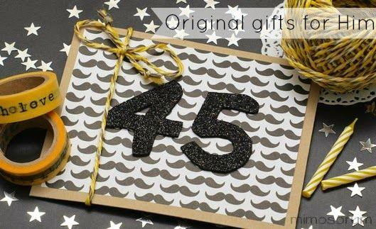 Regalo Original de Cumpleaños para Hombre - Original Gifts for Him | Handbox Craft Lovers | Comunidad DIY, Tutoriales DIY, Kits DIY