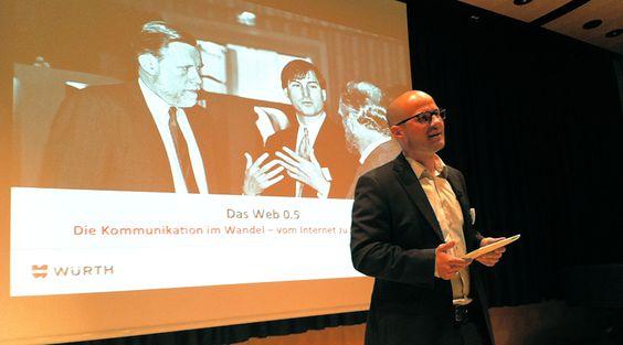 Social Media Seminar für die neuen Würth-Azubis: Die Referenten der Lingner Akademie sensibilisierten die Auszubildenden für die Themen Social Media und Unternehmenskommunikation 2.0.