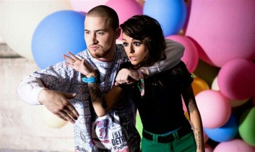Cher lloyd and mike posner