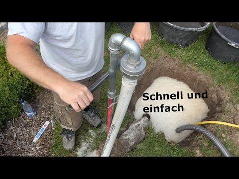 Brunnen Selber Bohren In 25 Min Youtube In 2020 Brunnen Garten Brunnen Brunnen Bauen