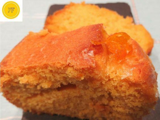 Bizcocho glaseado sin gluten | Cocina