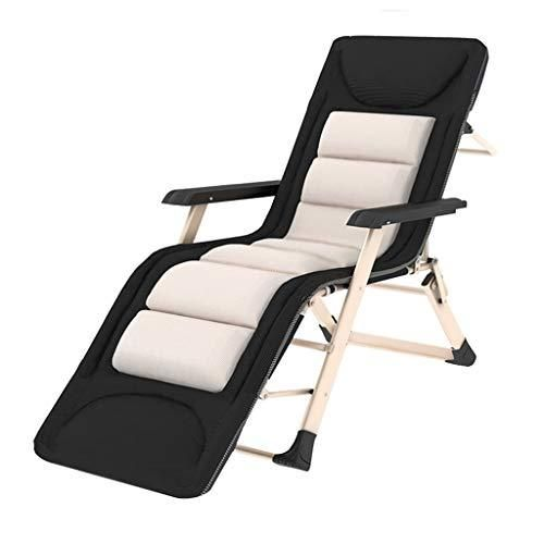 Gaixia Recliner Folding Chair Beach Lounge Chair Office Siesta Chair Home Office Portable Multi Purpose Folding Recliner Lounge Chair Size 185cm Beach Lounge Chair Folding Beach Chair Outdoor Chairs