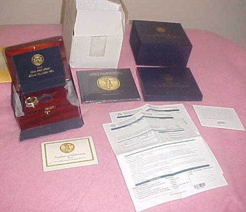 2009 W ULTRA HIGH RELIEF $20 DOUBLE EAGLE .9999 GOLD ONE TROY OUNCE COIN w BOOK