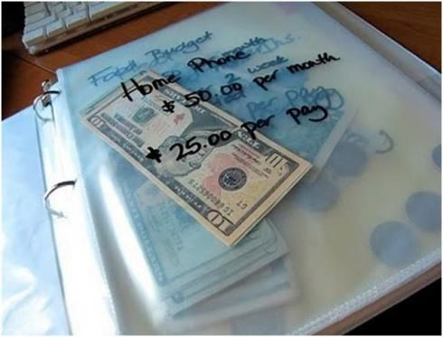 The Envelope System Saves $$$ « she makes cents