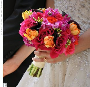 Beautiful colours: Flowers Colors, Flower Idea, Seasons Weddingflowers