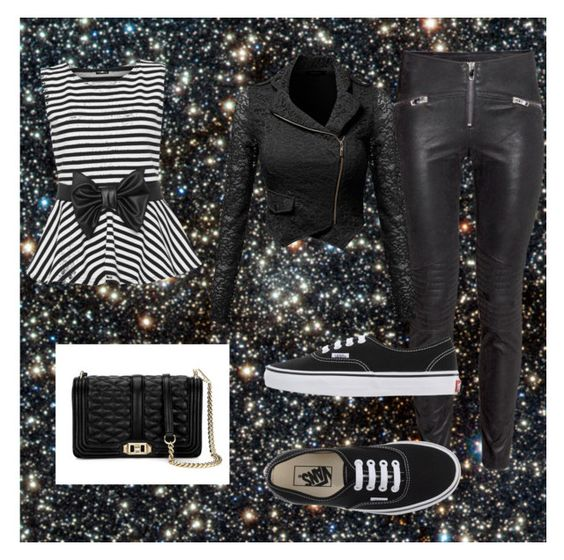 """""""Untitled #74"""" by yangkasiarose ❤ liked on Polyvore featuring WearAll, Vans and Rebecca Minkoff"""