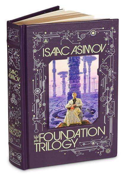 Trilogia da Fundação em edição de luxo