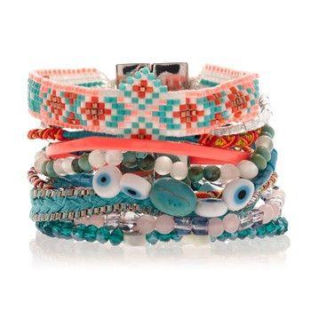 Maupiti - Bracelet manchette - Hipanema - Nouvelle Collection et ventes privées - Ref: 1469598 | Brandalley