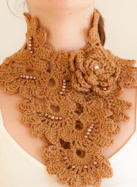 Funkycrochetscarfpatterns Bow Applique Crochet Embellishment