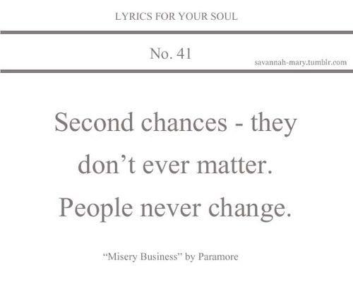 Lyrics For Your Soul 41 (lyrics,misery business,paramore)