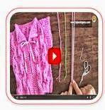 Cómo tejer chaleco de bebé