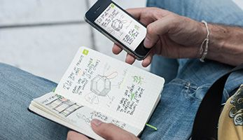Had this argument just the other day...Moleskine ® - Smart Phones vs Moleskine Notebooks?