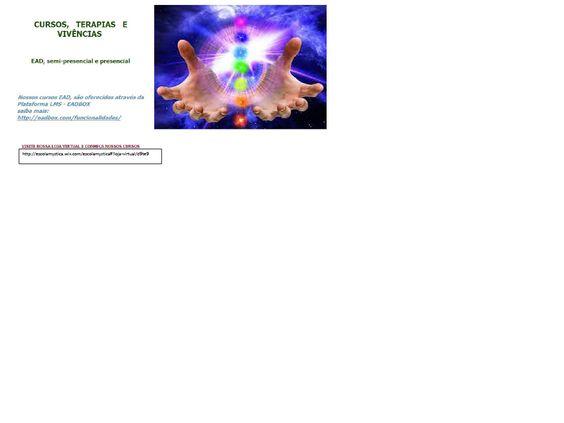 Escola Mystica / Escola Mística: Cursos, terapias e Vivências de Janeiro/Fevereiro