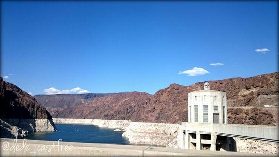 Colorado River at #HooverDam