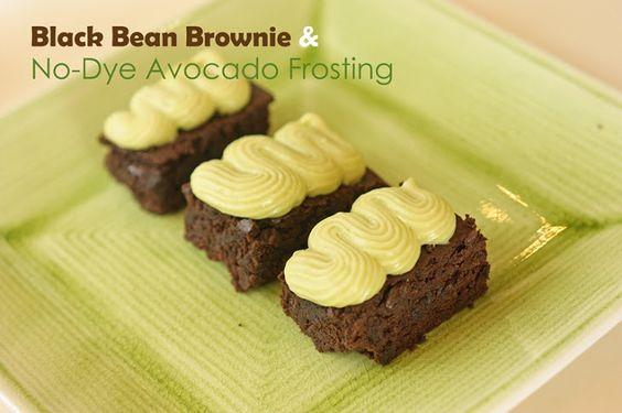 Jenn Recipe with avocado, butter, vanilla extract, powdered sugar, salt
