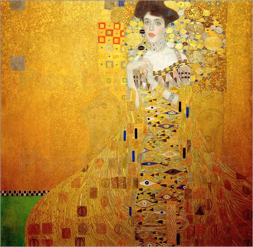 Poster Adele Bloch-Bauer I