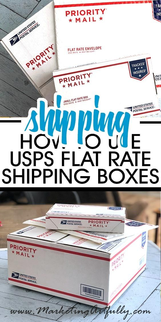 How To Use Usps Flat Rate Boxes For Ecommerce Starting An Etsy