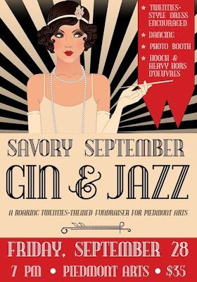 Fundraiser Promises to be the Bee's Knees with Roaring 20s Theme | Piedmont Arts Blog