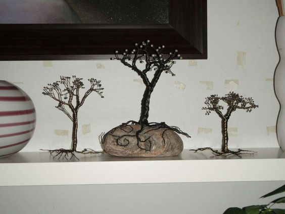 Make a Tree from Jewelry Wire