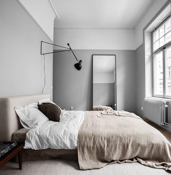 寝室 ブラケット照明 コーディネート例