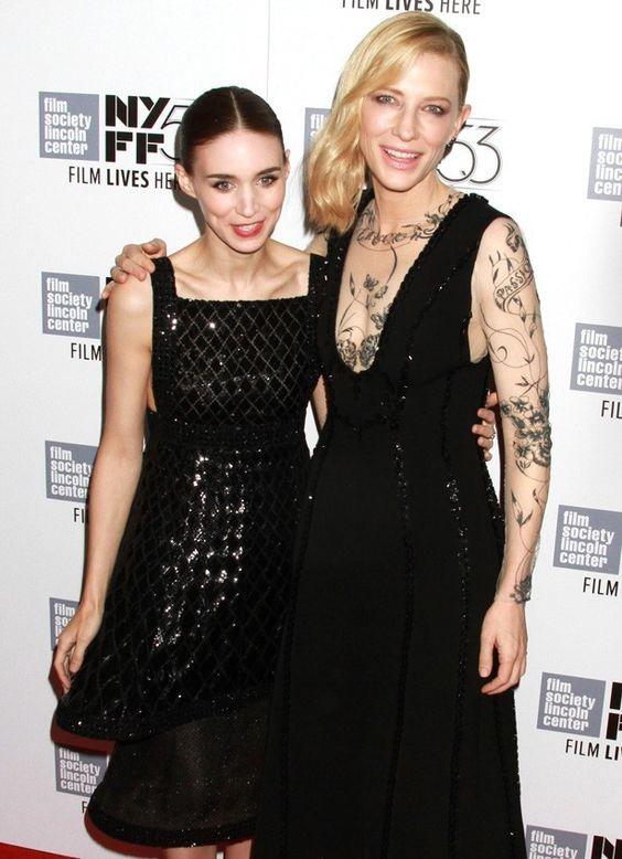 Carol movie - Cate & Rooney
