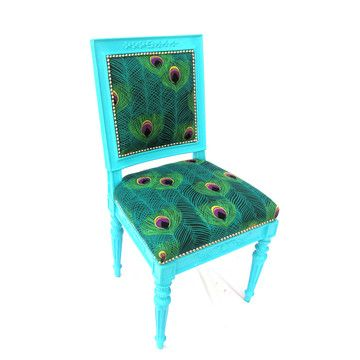 wish I had the time to re-purpose chairs to look like this!