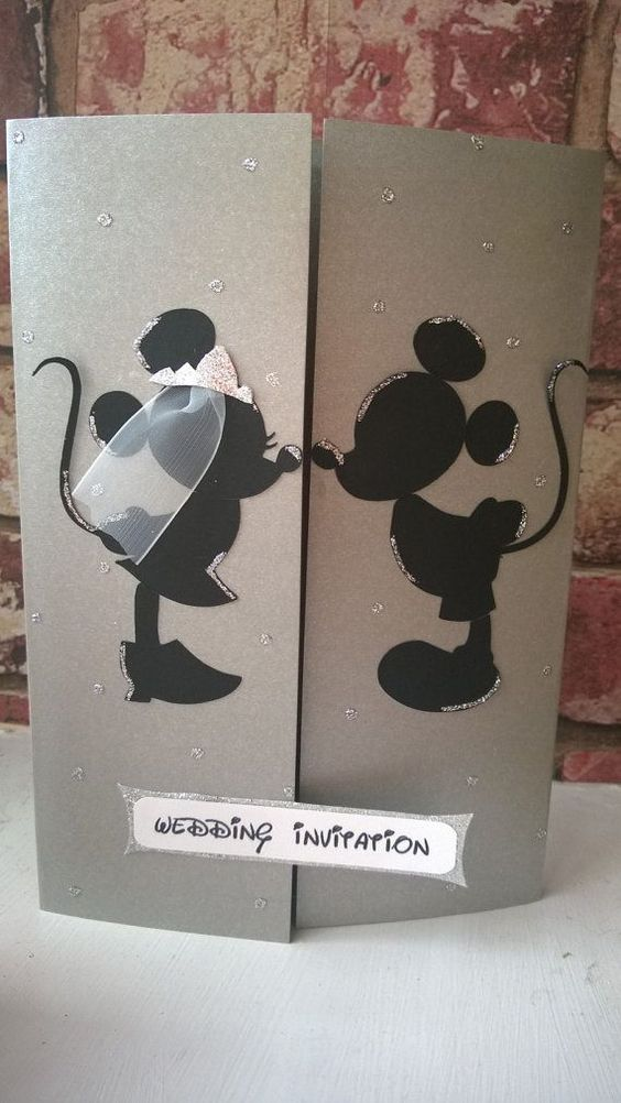 Hey, I found this really awesome Etsy listing at https://www.etsy.com/listing/178969416/minnie-mickey-mouse-wedding