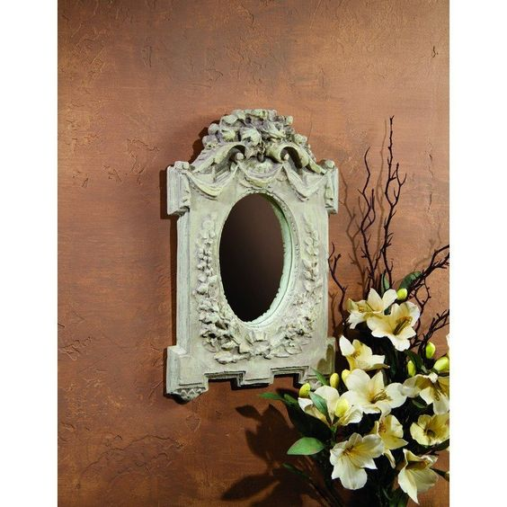 Shabby Chic Decorative Mirror Wall Decor