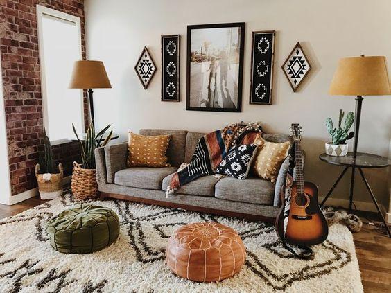 Renueva tu salón con textiles nuevos.